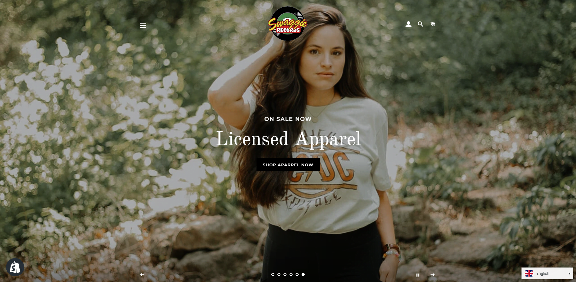 Shopify Web Design Swaggie Records